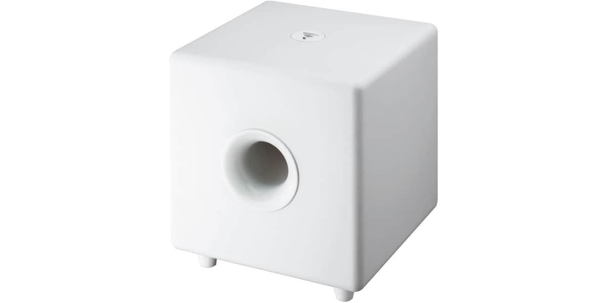 focal cub3 blanc caissons de basse sur easylounge. Black Bedroom Furniture Sets. Home Design Ideas
