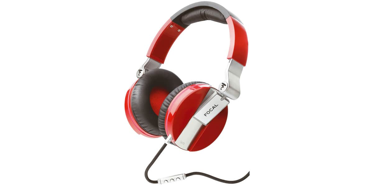 focal spirit one rouge casques audio nomades sur easylounge. Black Bedroom Furniture Sets. Home Design Ideas