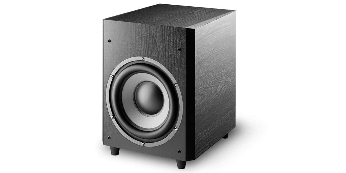 focal chorus sw700v noir caissons de basse sur easylounge. Black Bedroom Furniture Sets. Home Design Ideas