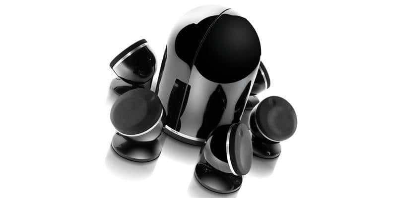 Focal Pack Dôme 5.1 Noir