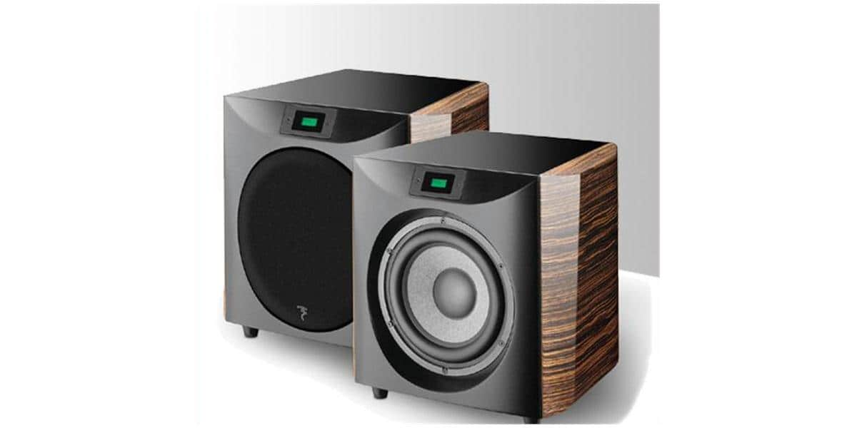 focal electra sw1000s caissons de basse sur easylounge. Black Bedroom Furniture Sets. Home Design Ideas