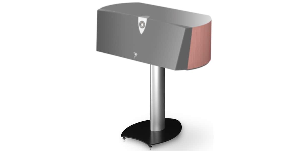 focal profilescc908 argent pieds pour enceintes sur easylounge. Black Bedroom Furniture Sets. Home Design Ideas