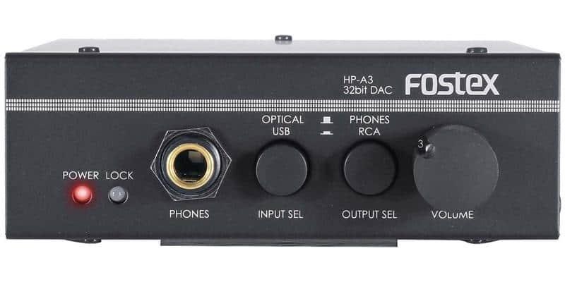 Fostex HP-A3 Noir