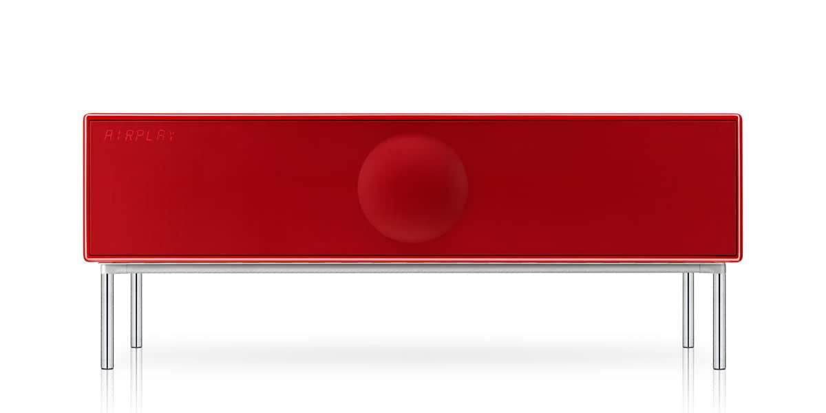Geneva Xxl Rouge Enceintes Bluetooth Sur Easylounge
