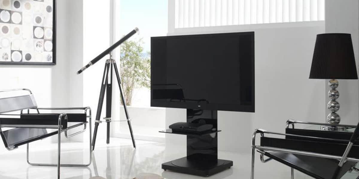 Gisan FS101 Noir  Supports TV sur Pied sur EasyLounge -> Tv Sur Pied Orientable