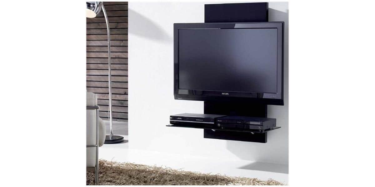 Gisan sm130 cm meubles tv gisan sur easylounge for Meuble mural gisan