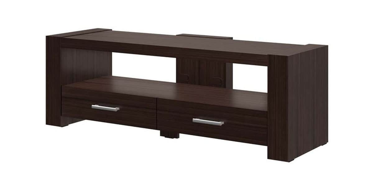 hubertus monaco 2 bois fonc meubles tv divers sur. Black Bedroom Furniture Sets. Home Design Ideas