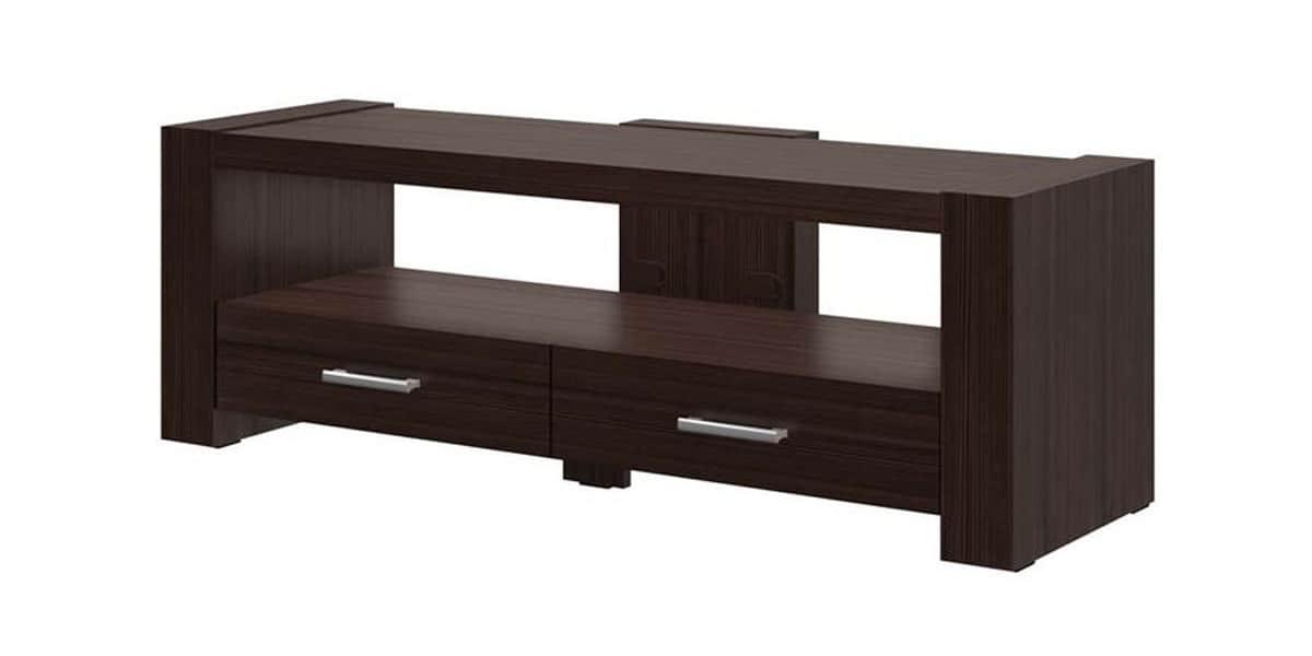 hubertus monaco 2 bois fonc meubles tv divers sur. Black Bedroom Furniture Sets. Home Design Ideas