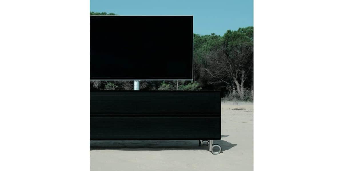 Idtech italia grande noir meubles tv divers sur easylounge for Meuble tv grande taille