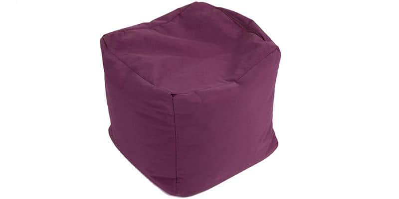 Jumbo Bag Cube Aubergine