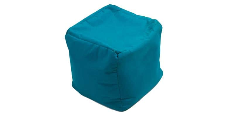 Jumbo Bag Cube Bleu pétrole