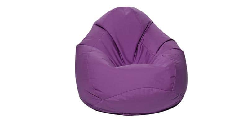 jumbo bag scuba xxl aubergine easylounge. Black Bedroom Furniture Sets. Home Design Ideas