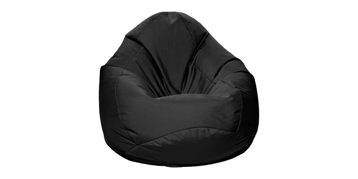 jumbo bag scuba xxl noir tous les poufs et coussins sur easylounge. Black Bedroom Furniture Sets. Home Design Ideas
