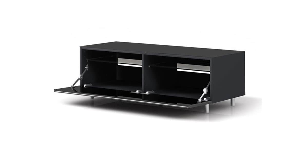 just racks jrl1100 noir meubles tv just racks sur easylounge. Black Bedroom Furniture Sets. Home Design Ideas