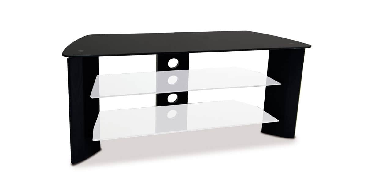 kaorka k120 l1000 noir - Meuble Tv Kaorka Blanc
