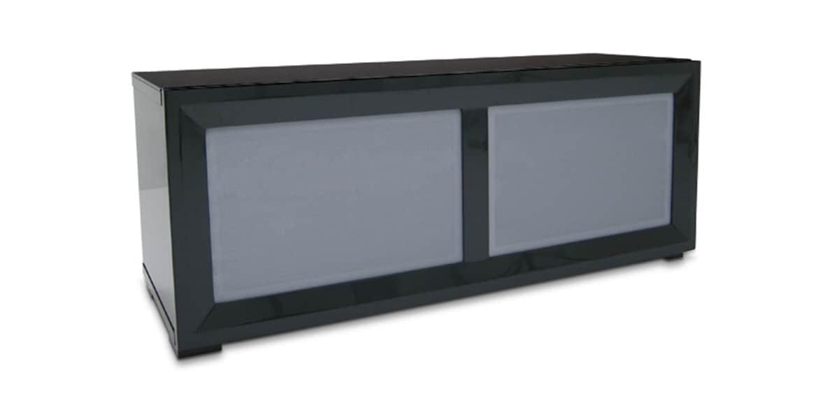 Kaorka k140 l1100 gris meubles tv divers sur easylounge for Meuble tv kaorka