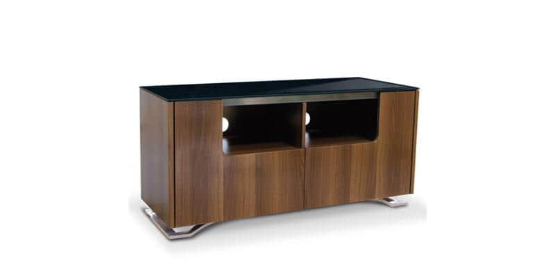 Kaorka k175 noyer clair meubles tv divers sur easylounge for Meuble tv kaorka
