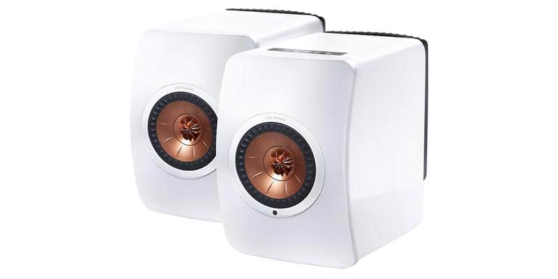 KEF LS50 Wireless Blanc laqué