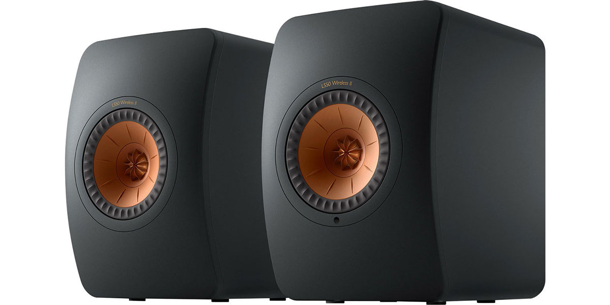KEF LS50 Wireless 2 Noir mat