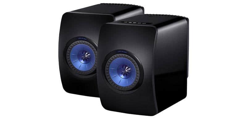 KEF LS50 Wireless Noir laqué
