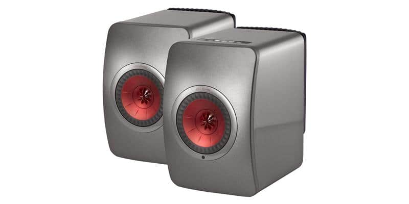 KEF LS50 Wireless Titane
