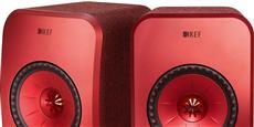 KEF LSX Wireless Rouge
