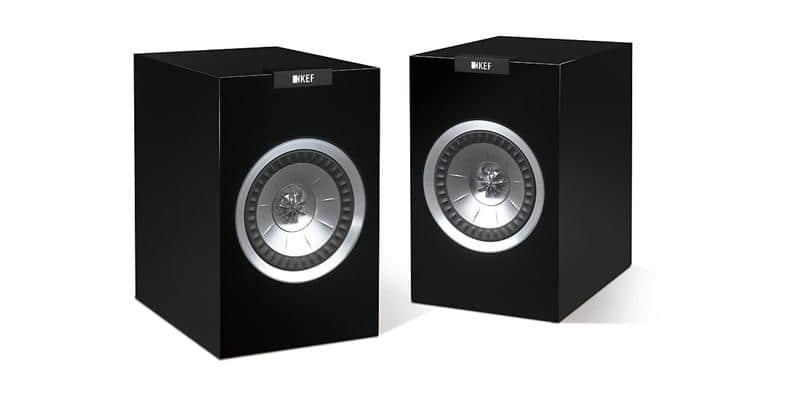 KEF R100 Noir laqué