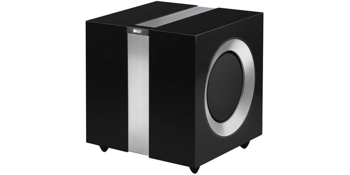 KEF R400B Noir laqué