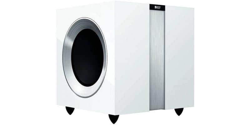 KEF R400B Blanc Laqué