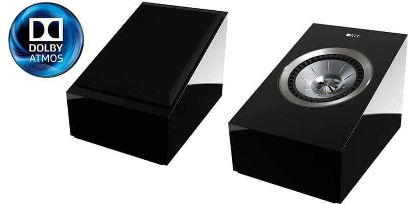 KEF R50 Noir laqué