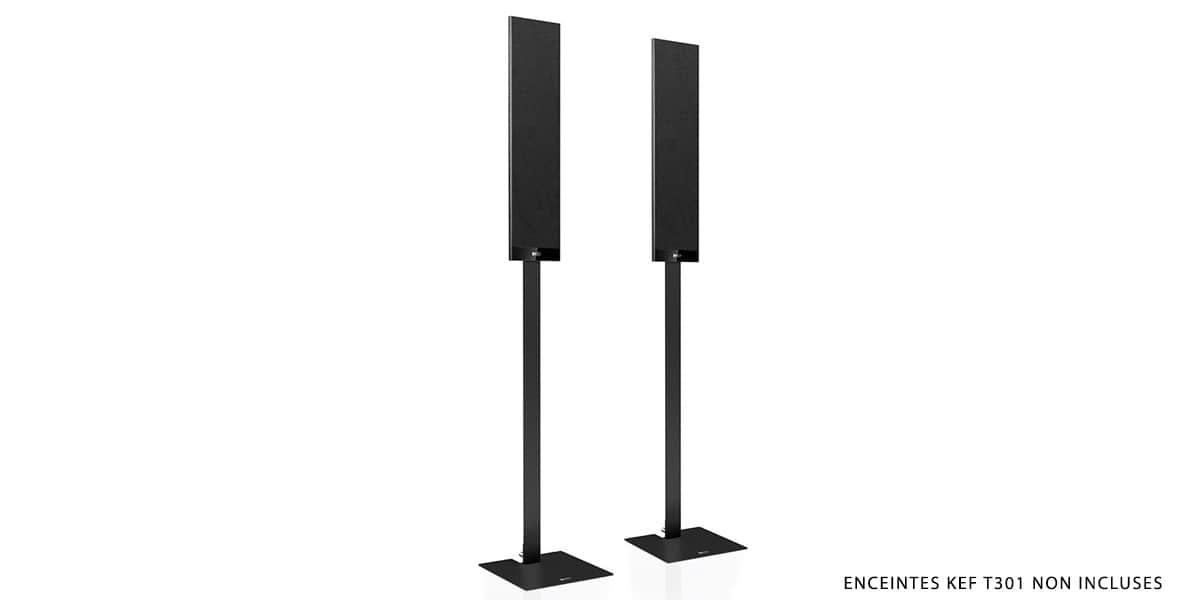 KEF Stand T Series Noir