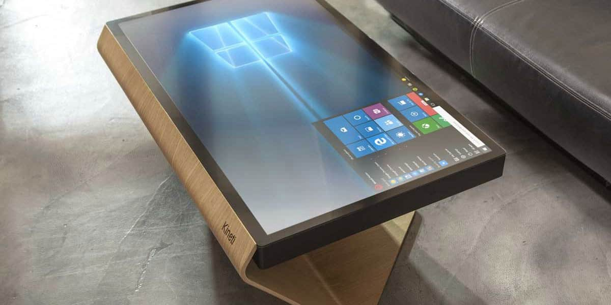 kineti technologies la table kineti easylounge. Black Bedroom Furniture Sets. Home Design Ideas
