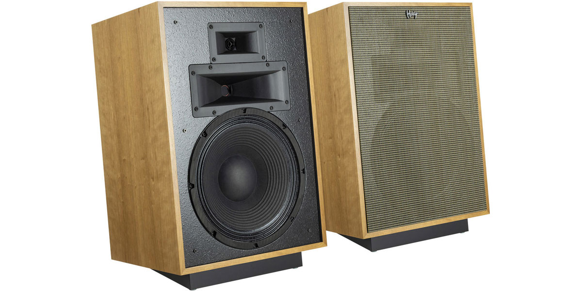 Klipsch Heresy IV Merisier naturel