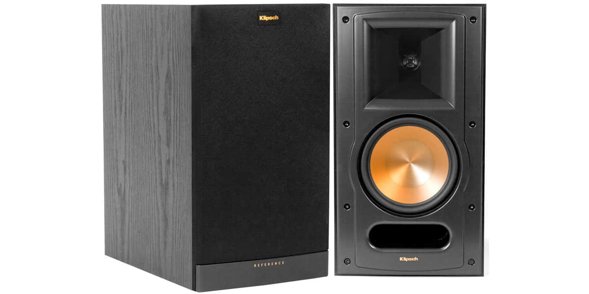 klipsch rb 81 ii noir enceintes biblioth ques sur easylounge. Black Bedroom Furniture Sets. Home Design Ideas