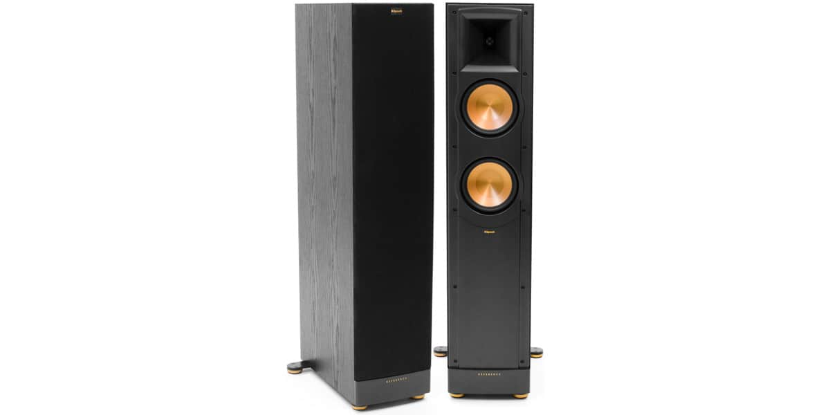 klipsch rf 62 ii noir enceintes colonnes sur easylounge. Black Bedroom Furniture Sets. Home Design Ideas