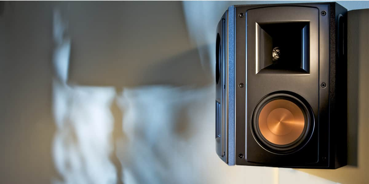 Les enceintes Surround Klipsch RS62