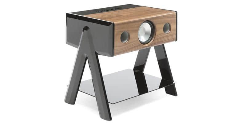 La Boite Concept Cube Woody Noir et noyer