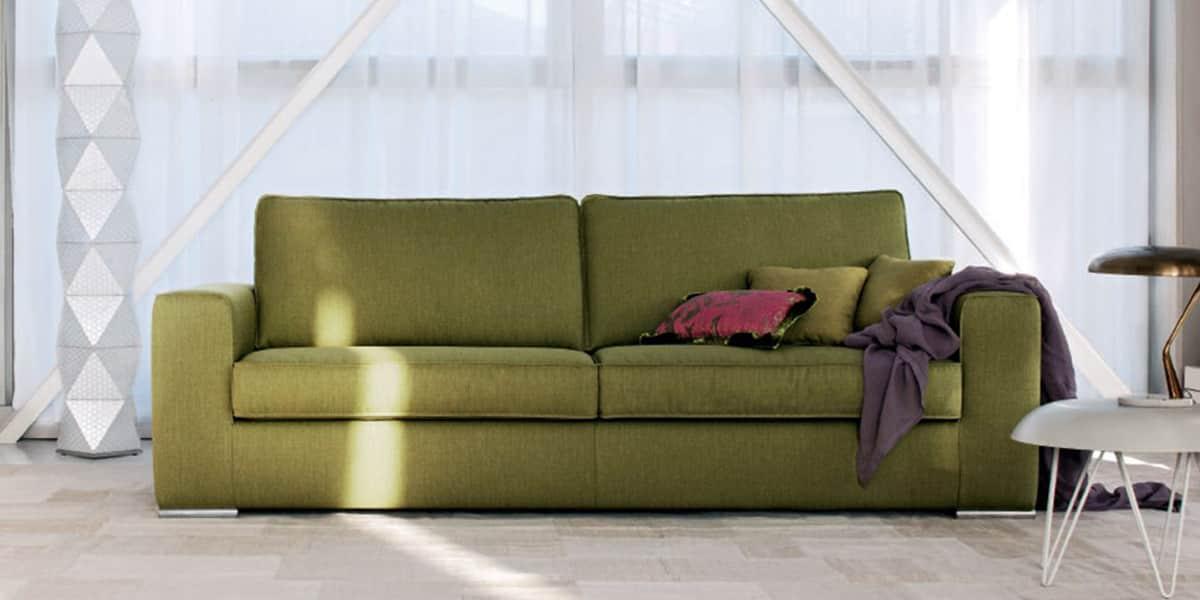 Linea italia kevin vert tous les canap s sur easylounge - Canape disponible immediatement ...