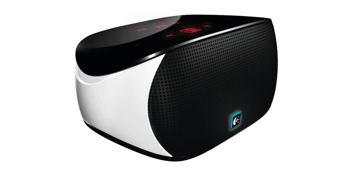 logitech mini boombox blanc enceintes ipod iphone sur easylounge. Black Bedroom Furniture Sets. Home Design Ideas