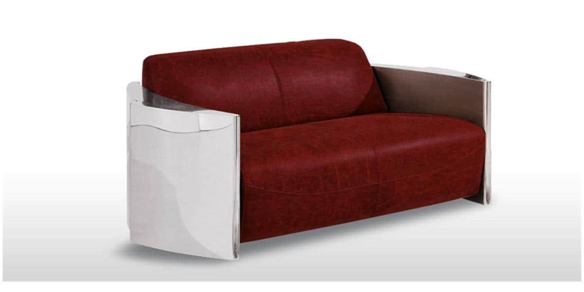Coti design canap lover3 rouge tous les canap s sur for Tous les canapes
