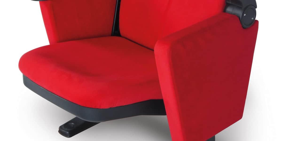 Lumene hollywood confort rouge fauteuils de cin ma sur easylounge - Fauteuil rouge cinema ...