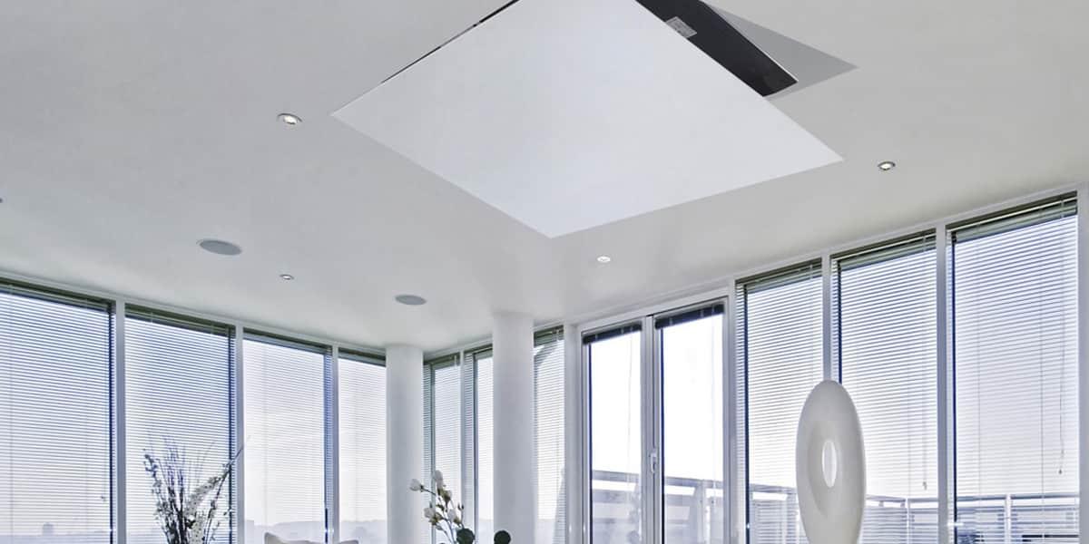 support tv plafond motorise. Black Bedroom Furniture Sets. Home Design Ideas