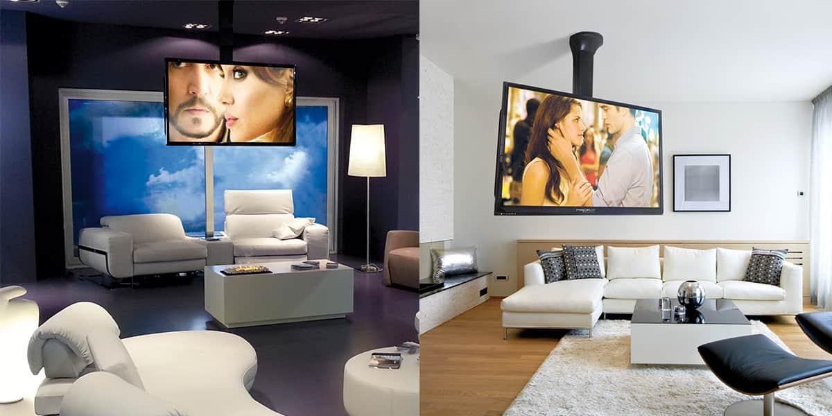 maior lift nero supports tv motoris s sur easylounge. Black Bedroom Furniture Sets. Home Design Ideas