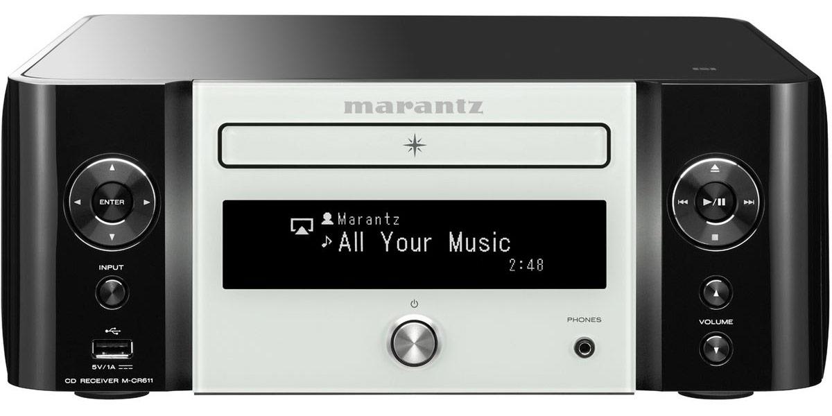 Marantz M-CR611 Noir et Blanc