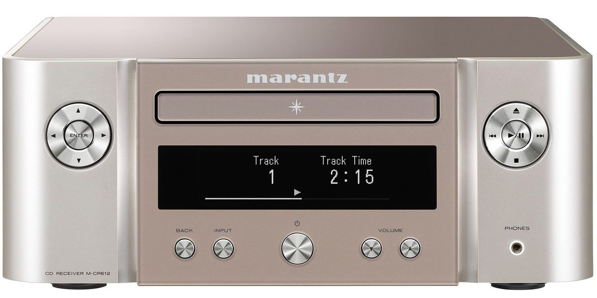 Marantz Melody X M-CR612 Silver Gold