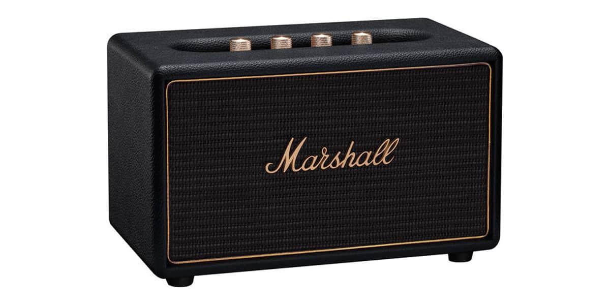 marshall acton multi room noir multiroom audio sur. Black Bedroom Furniture Sets. Home Design Ideas
