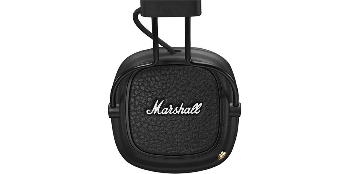 marshall major 3 bluetooth noir easylounge. Black Bedroom Furniture Sets. Home Design Ideas