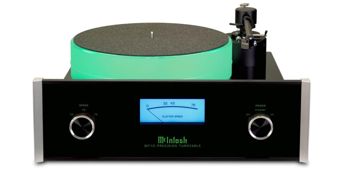 mc intosh mt10 noir platines vinyles audiophiles sur. Black Bedroom Furniture Sets. Home Design Ideas