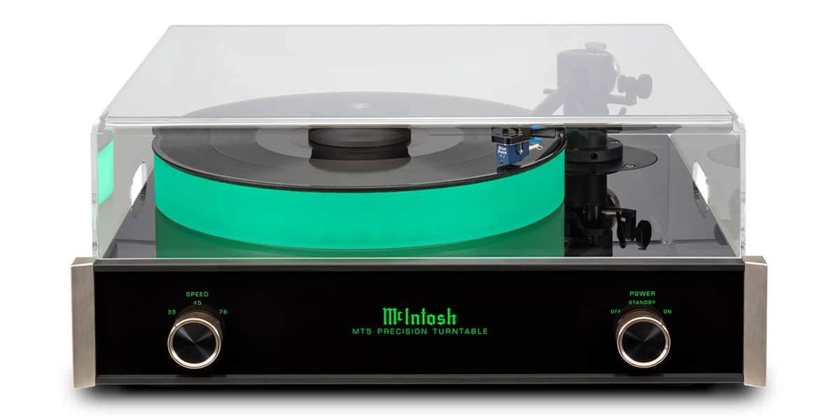 mc intosh mt5 noir platines vinyles audiophiles sur easylounge. Black Bedroom Furniture Sets. Home Design Ideas