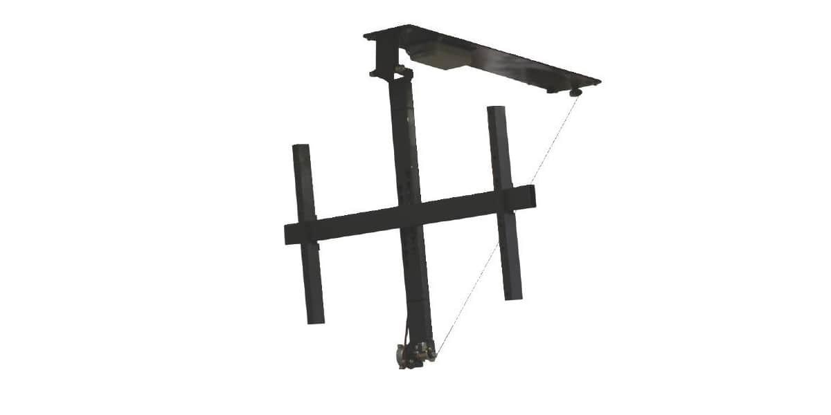mecatronica book 75 supports tv plafond sur easylounge. Black Bedroom Furniture Sets. Home Design Ideas